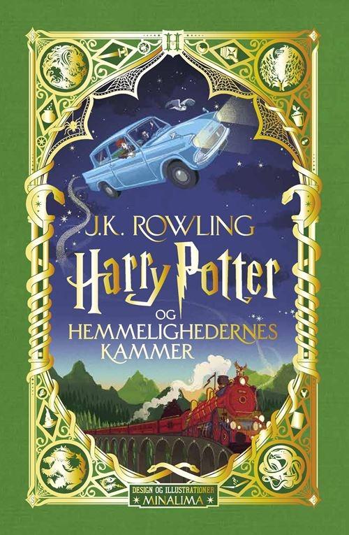 Harry Potter: Harry Potter 2 - Harry Potter og Hemmelighedernes Kammer - pragtudgave - J. K. Rowling - Bøger - Gyldendal - 9788702319361 - October 26, 2021