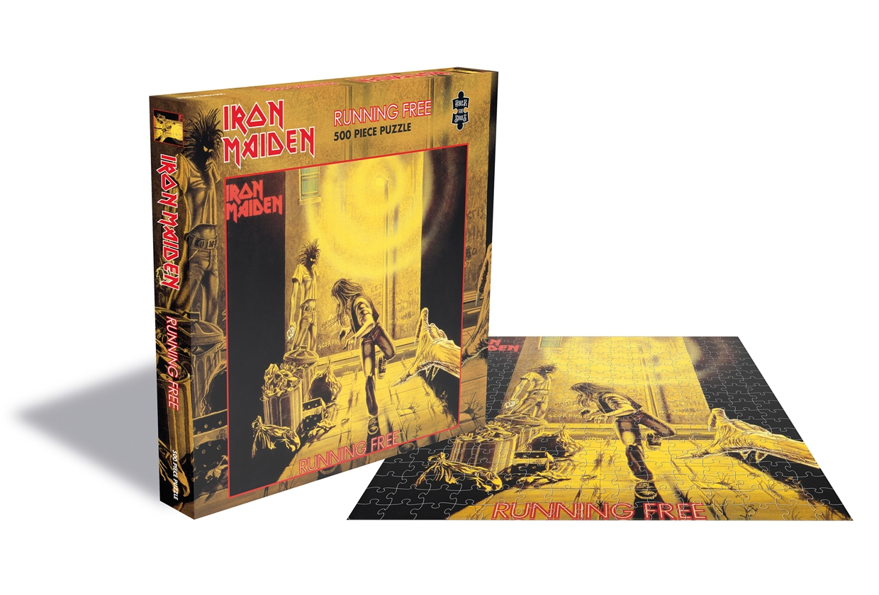 Running Free (500 Piece Jigsaw Puzzle) - Iron Maiden - Andet - Plastic Head - 0803341522374 - September 17, 2021