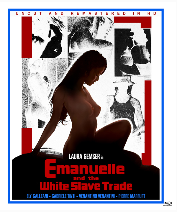 Emanuelle And The White Slave Trade - Feature Film - Film - FULL MOON FEATURES - 0850019903379 - August 6, 2021