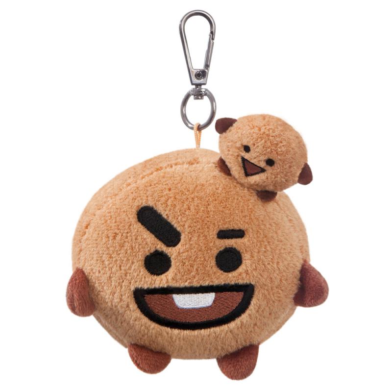 BT21 SHOOKY Head Keychain 3In - Bt21 - Merchandise - BT21 - 5034566613379 - February 14, 2020