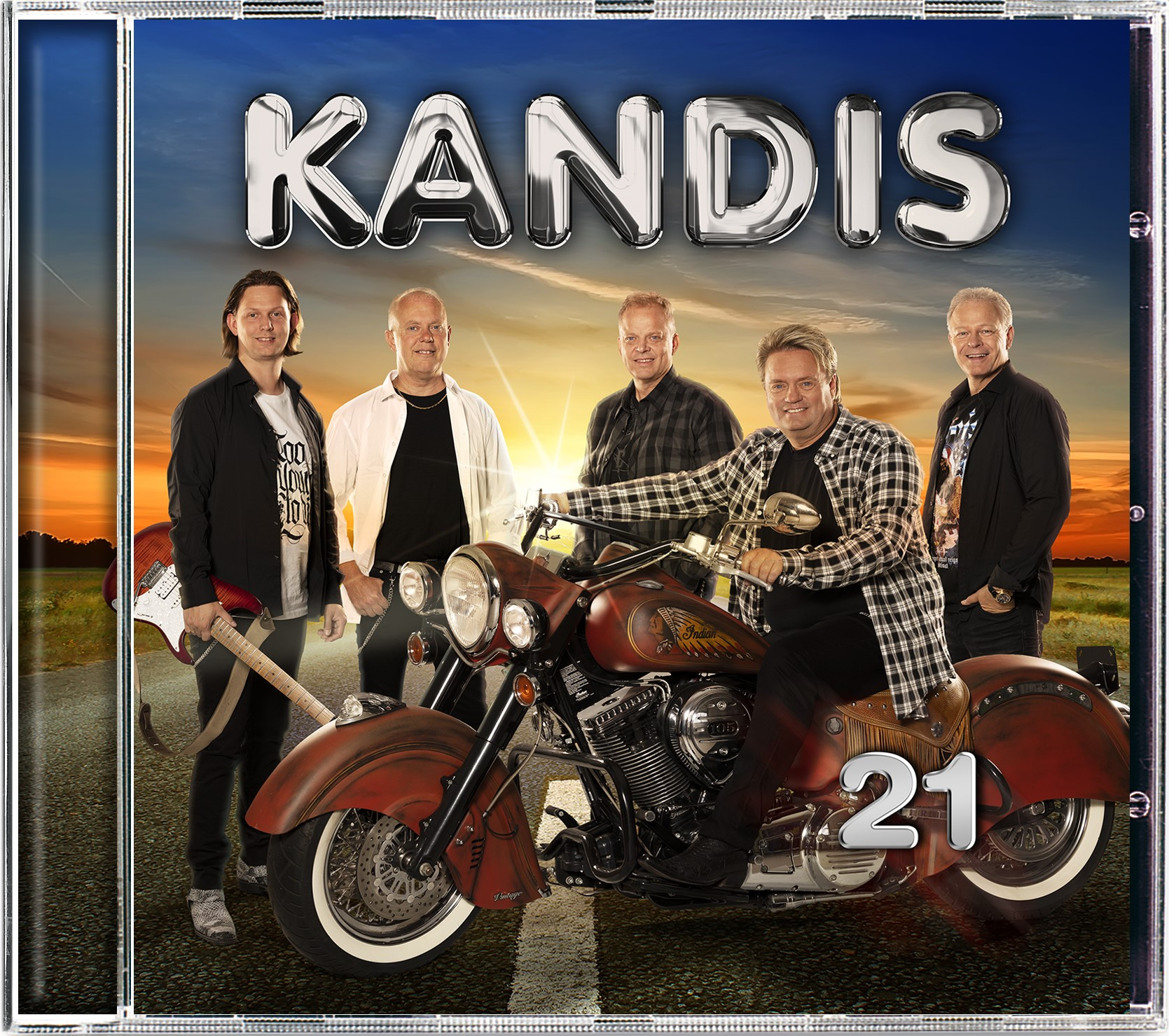 KANDIS 21  [Signeret] - KANDIS - Musik -  - 5712192003381 - November 15, 2021