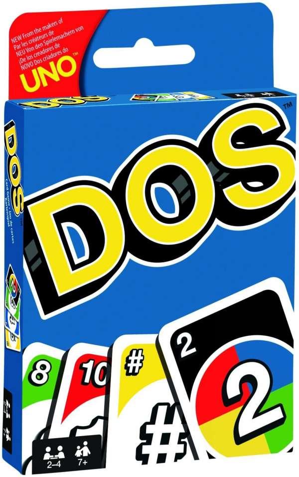 DOS (UNO) -  - Brætspil -  - 0887961629385 -