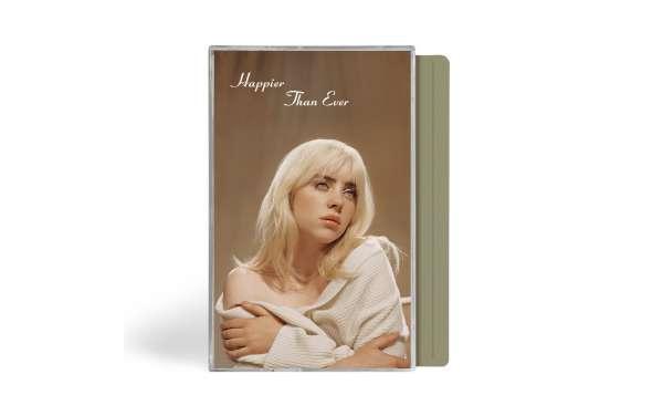 Happier Than Ever (Grey Cassette) - Billie Eilish - Musik - DARKROOM/INTERSCOPE - 0602438241392 - July 30, 2021