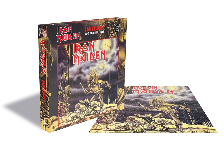 Sanctuary (500 Piece Jigsaw Puzzle) - Iron Maiden - Andet - Plastic Head - 0803341522398 - September 17, 2021