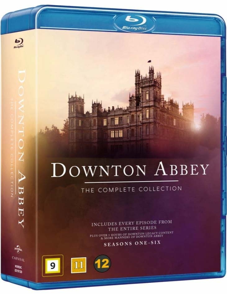Downton Abbey - The Complete Collection - Downton Abbey - Film -  - 5053083191399 - August 5, 2019