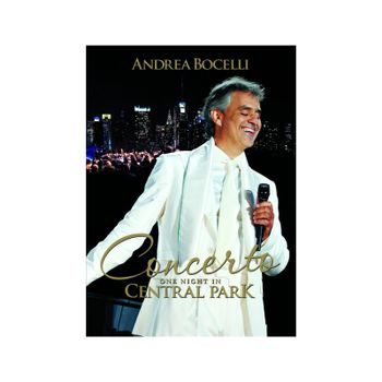 Concerto: One Night in Central Park - 10th Anniversary - Andrea Bocelli - Film - UNIVERSAL - 0602438406401 - September 10, 2021