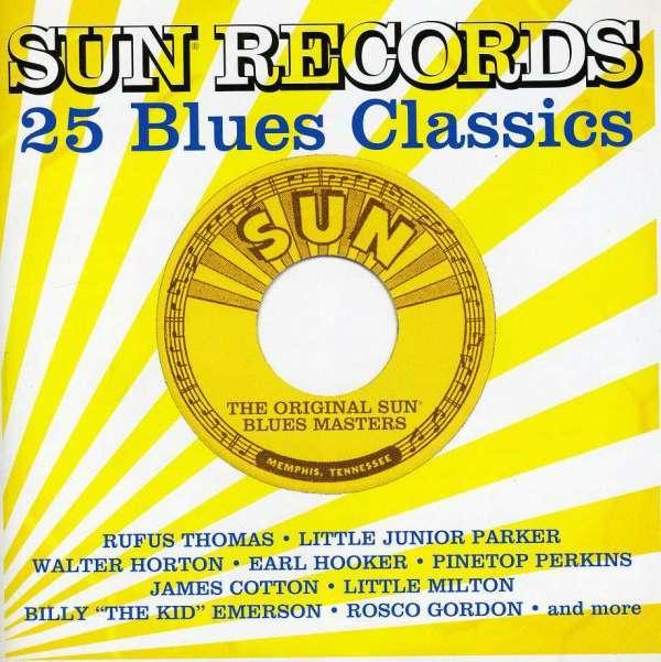 Sun Records 25 Blues Classics - V/A - Musik - BLUES - 0030206625424 - June 30, 1990