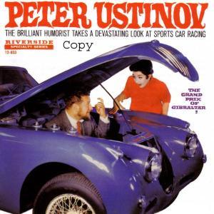 Grand Prix Of Gibraltar - Peter Ustinov - Musik - RIVERSIDE - 0029667471428 - July 29, 2002