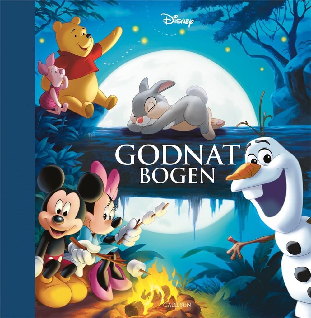 Godnatbogen - Disney - Bøger - CARLSEN - 9788711989432 - November 2, 2021