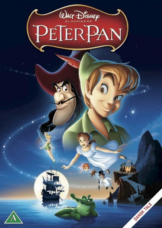 Peter Pan - Disney - Film -  - 8717418374433 - January 8, 2013