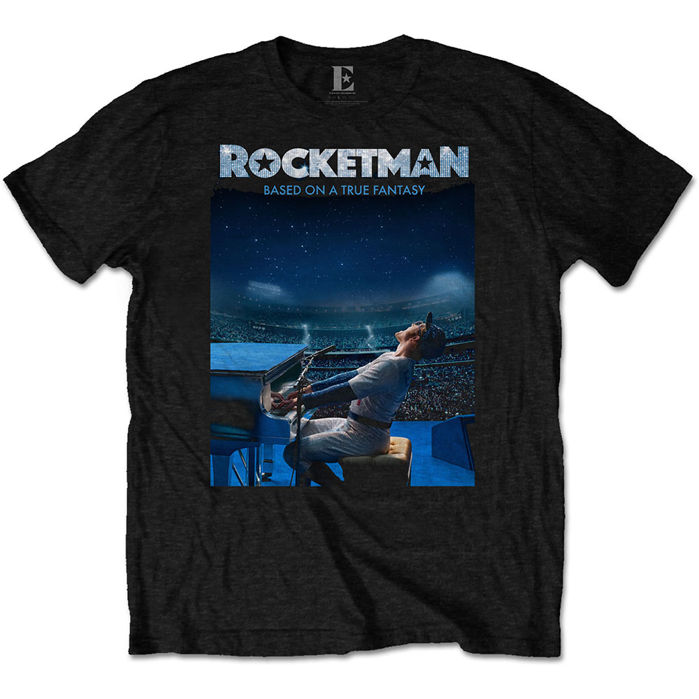 Elton John Unisex T-Shirt: Rocketman Starry Night - Elton John - Merchandise - MERCHANDISE - 5056170699440 - January 10, 2020