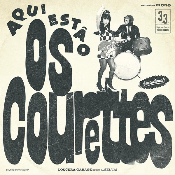 Here Are the Courettes - The Courettes - Musik - Sounds Of Subterrania - 4260016921447 - June 22, 2015