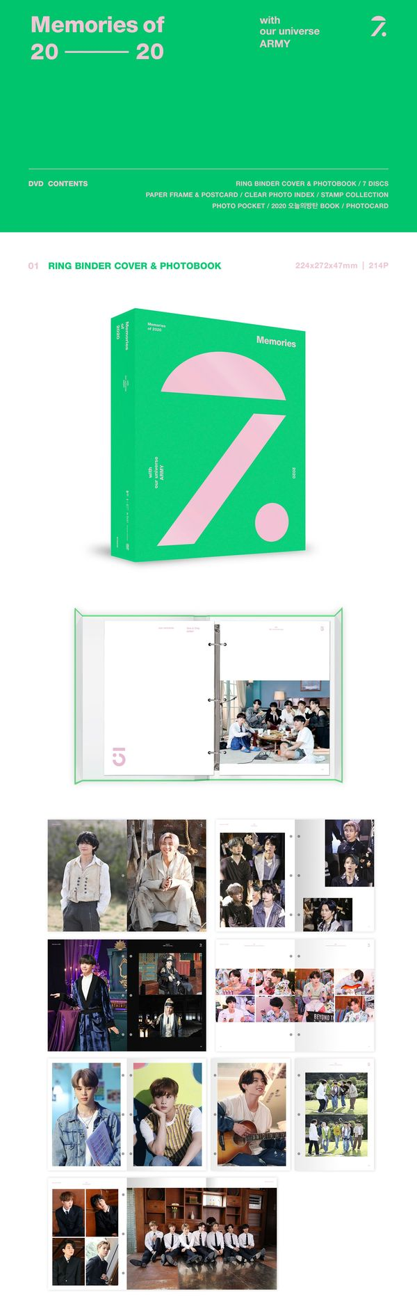 MEMORIES OF 2020 DVD - BTS - Musik - Big Hit Entertainment - 8809375122452 - August 13, 2021