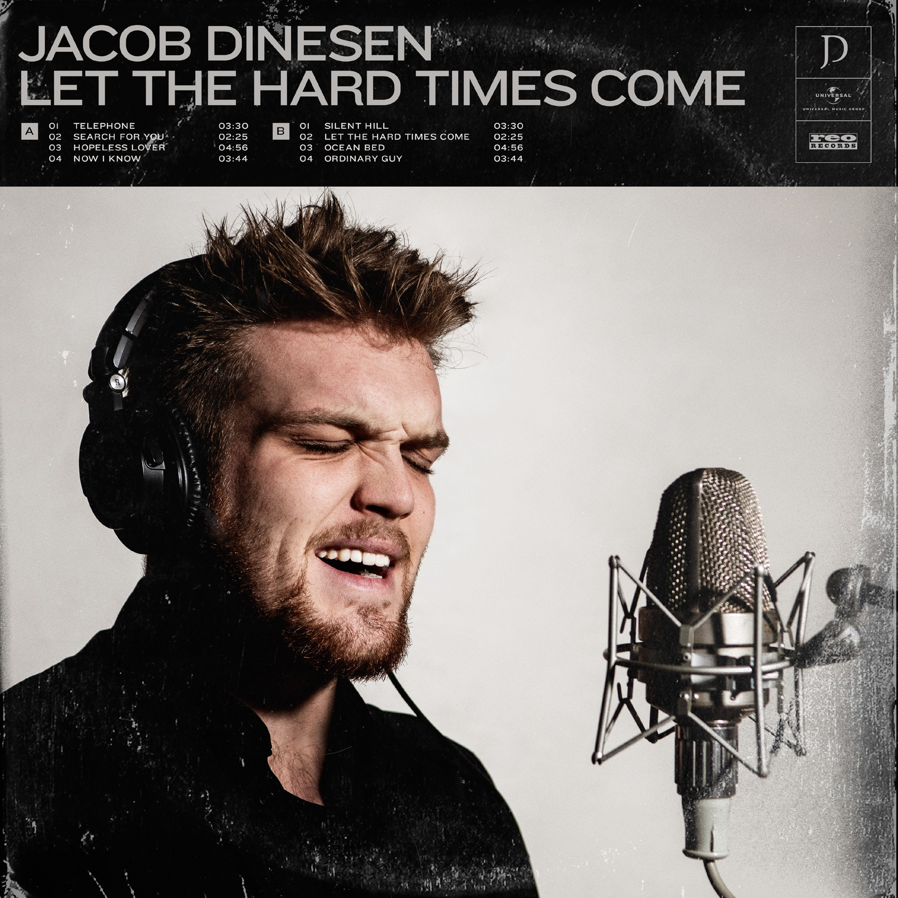 Let The Hard Times Come - Jacob Dinesen - Musik -  - 5056022662455 - 25. september 2020