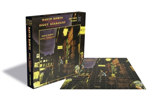 David Bowie The Rise And Fall Of Ziggy Stardust And The Spiders From Mars (500 Piece Jigsaw Puzzle) - David Bowie - Brætspil - ZEE COMPANY - 0803343257458 - September 4, 2020