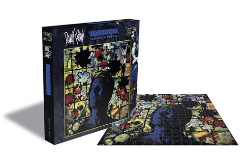 David Bowie Tonight (500 Piece Jigsaw Puzzle) - David Bowie - Brætspil - ZEE COMPANY - 0803343257465 - September 4, 2020
