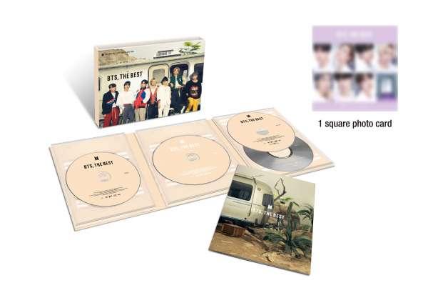 BTS: The Best (Limited Edition B) (Deluxe Slipcase Digi) - Bts - Musik - GEFFEN - 0602435988467 - August 6, 2021