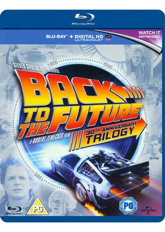 Back to The Future Trilogy - Movie - Film - UNIVERSAL PICTURES - 5053083052478 - October 5, 2015