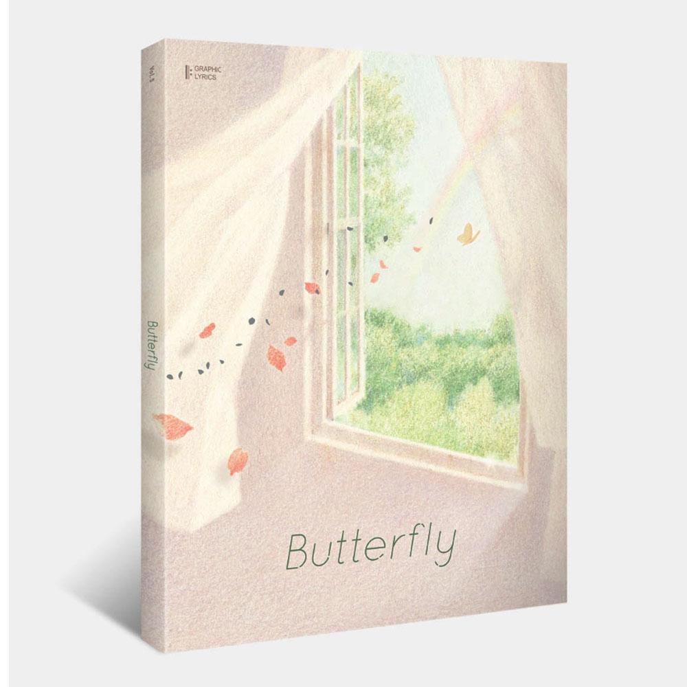 BUTTERFLY (GRAPHIC LYRICS VOL.5) - BTS - Bøger - Big Hit Entertainment - 9791196854492 - July 8, 2020