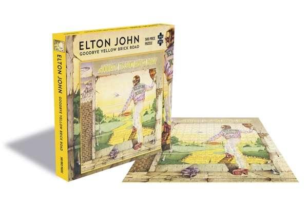 Goodbye Yellow Brick Road (500 Piece Jigsaw Puzzle) - Elton John - Brætspil - ZEE COMPANY - 0803343251494 - March 6, 2020