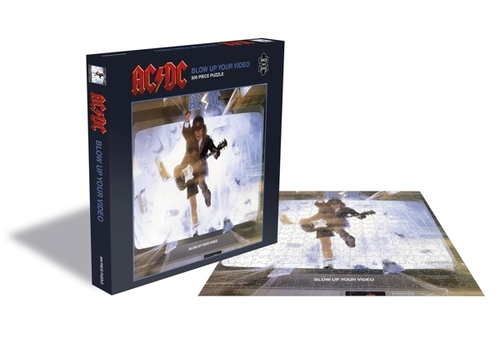 AC/DC Blow Up Your Video (500 Piece Jigsaw Puzzle) - AC/DC - Brætspil - ZEE COMPANY - 0803343257502 - September 4, 2020