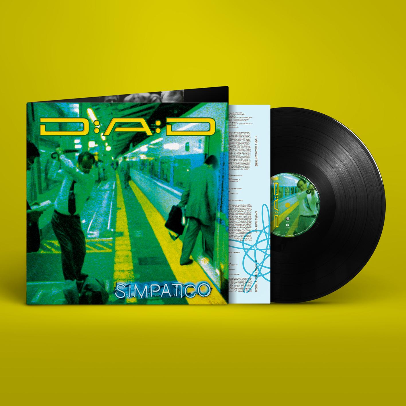 Simpatico - D-A-D - Musik - PLG Denmark - 5054197074509 - March 19, 2021