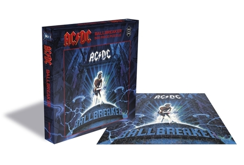 AC/DC Ballbreaker (500 Piece Jigsaw Puzzle) - AC/DC - Brætspil - ZEE COMPANY - 0803343257519 - September 4, 2020