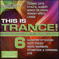 This Is Trance 6 - V/A - Musik - MVD - 0030206083521 - September 26, 2013