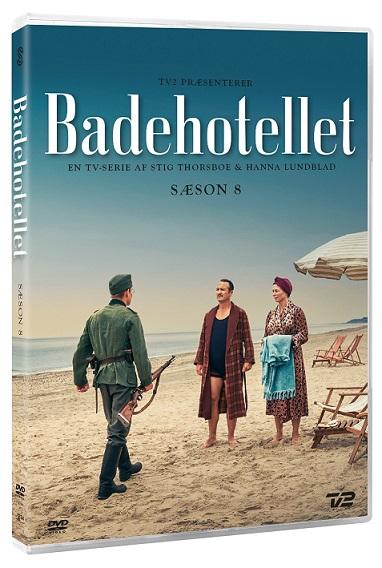 Badehotellet - Sæson 8 - Badehotellet - Film - SCANBOX - 5709165186523 - 9. April 2021