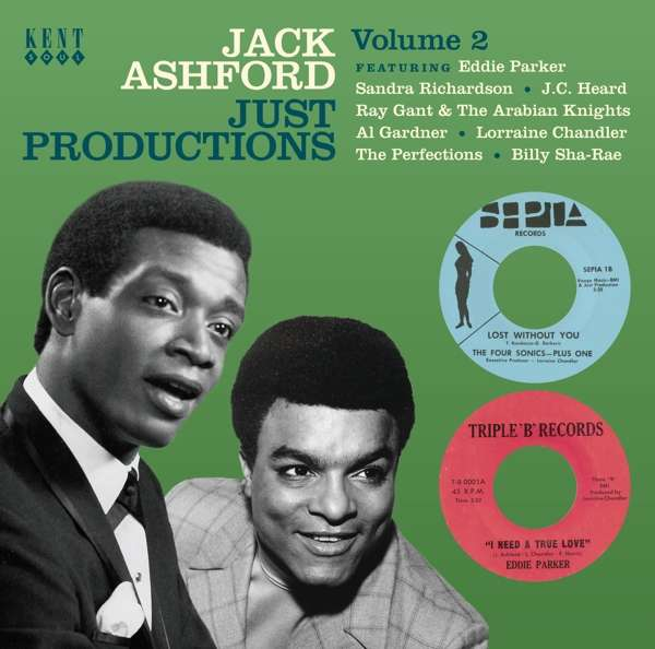 Jack Ashford Just Productions Vol.2 - V/A - Musik - KENT SOUL - 0029667089524 - September 6, 2018