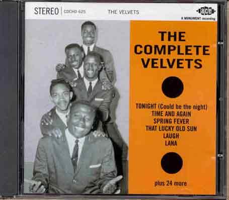 Complete Velvets - Velvets - Musik - ACE - 0029667162524 - March 22, 1996