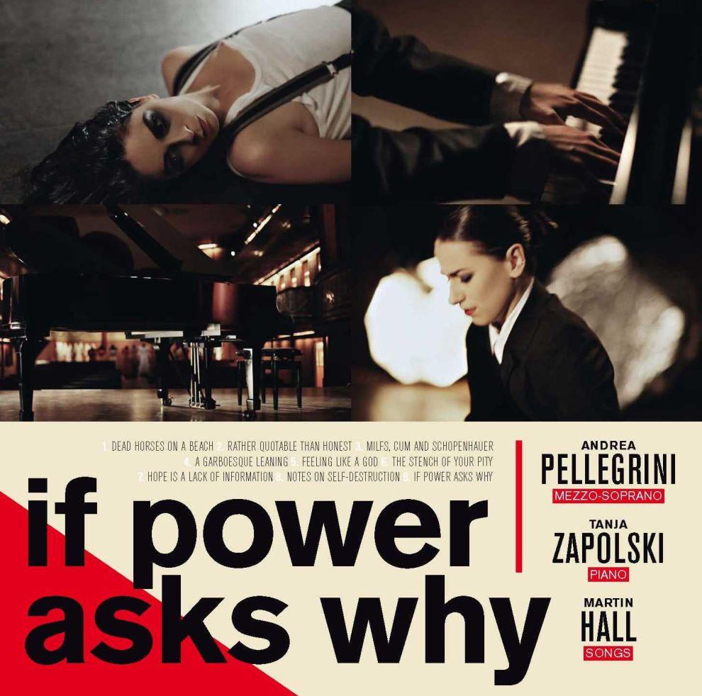 If Power Asks Why - Martin Hall, Andrea Pellegrini & Tanja Zapolski - Musik - VME - 5709498211527 - October 2, 2012