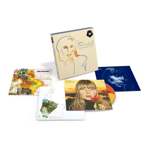 The Reprise Albums (1968-1971) - Joni Mitchell - Musik - RHINO - 0603497844548 - July 2, 2021