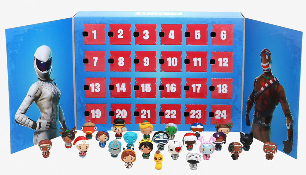 Fortnite 24pc Advent Calendar - Funko Advent Calendar: - Merchandise - FUNKO UK LTD - 0889698427548 - October 31, 2021