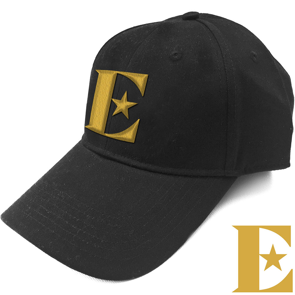 Elton John Unisex Baseball Cap: Gold E - Elton John - Merchandise -  - 5056170683609 -