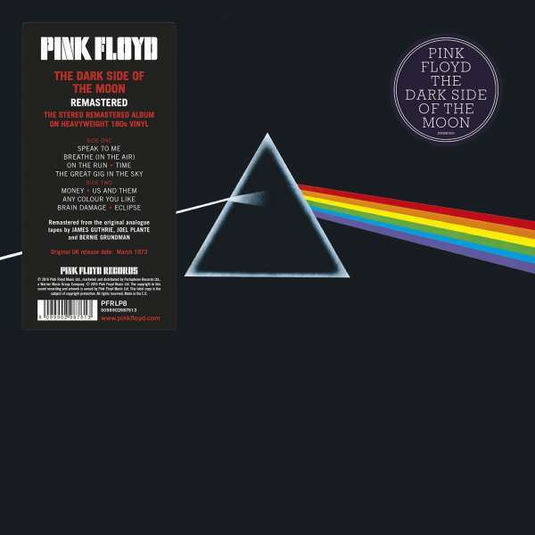 The Dark Side of the Moon - Pink Floyd - Musik - CAPITOL - 5099902987613 - November 4, 2016