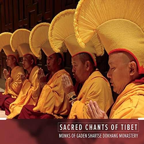 Sacred Chants of Tibet - Monks of Gaden Shartse Dokhang Monastery - Musik - CDB - 0045635913615 - December 2, 2014