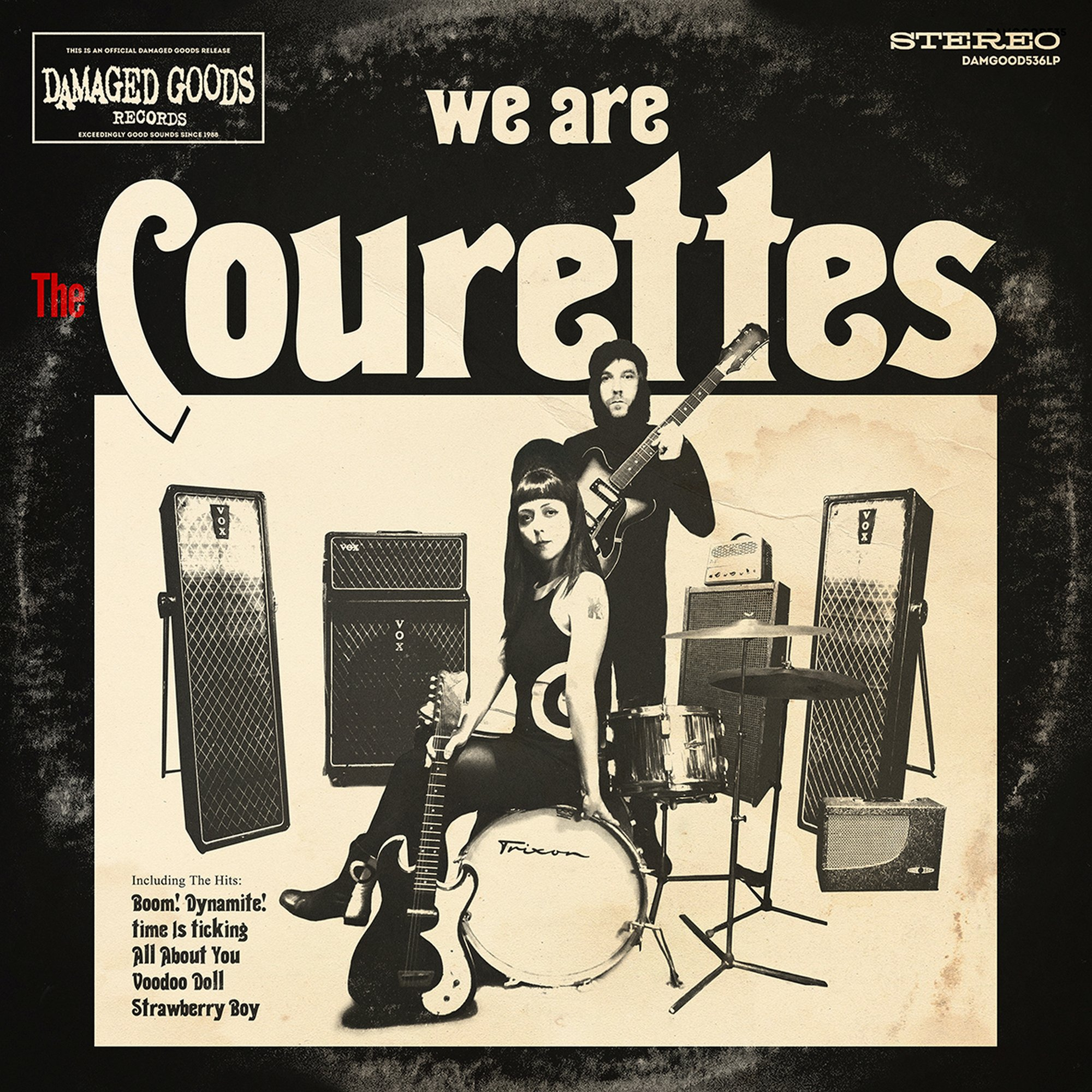 We Are The Courettes - The Courettes - Musik - CARGO DUITSLAND - 5020422053618 - July 16, 2021