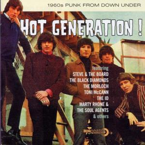 Various - Hot Generation! 1960s Punk from Down Under - Musik - Big Beat - 0029667421621 - July 29, 2002