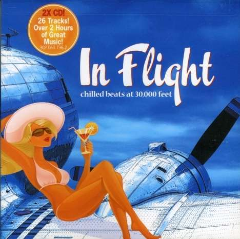 In Flight: Chilled Beats At... - Various Artists - Musik - WATER MUSIC INC. - 0030206073621 - August 18, 2008
