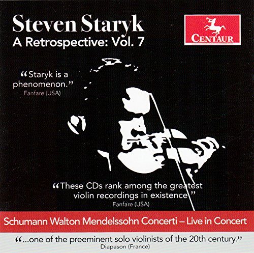 A Retrospective Vol.7 - Steven Staryk - Musik - CENTAUR - 0044747336626 - July 7, 2017