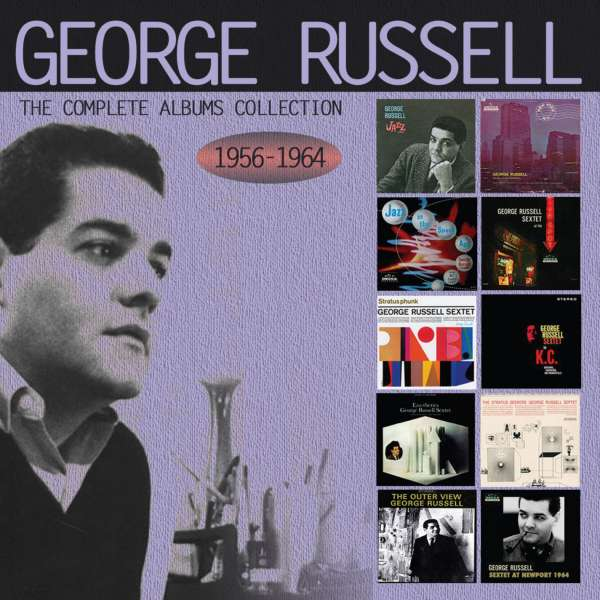The Complete Albums Collection 1956 - 1964 - George Russell - Musik - ENLIGHTENMENT - 0823564659626 - September 11, 2015
