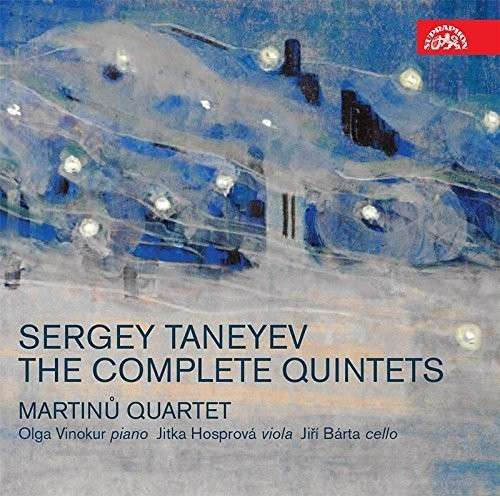 Complete Quintets - S. Taneyev - Musik - SUPRAPHON - 0099925417628 - March 25, 2015