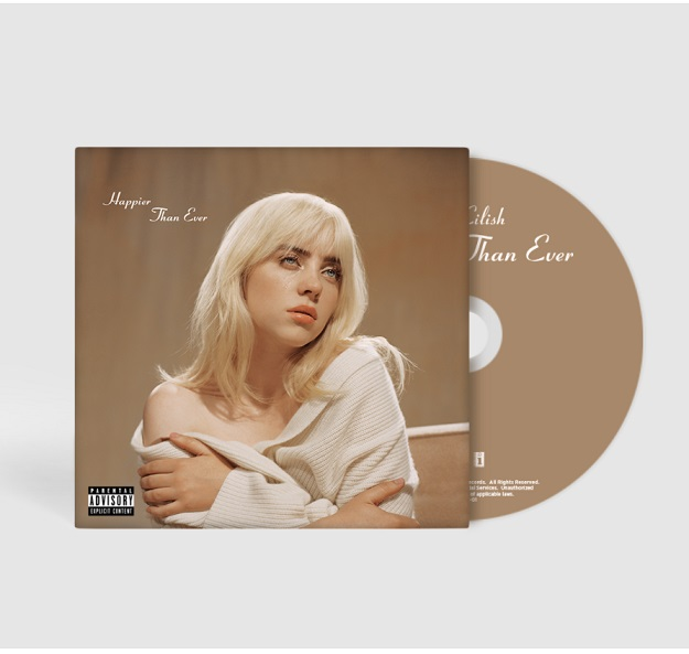 Happier Than Ever - Billie Eilish - Musik -  - 0602435973654 - July 30, 2021