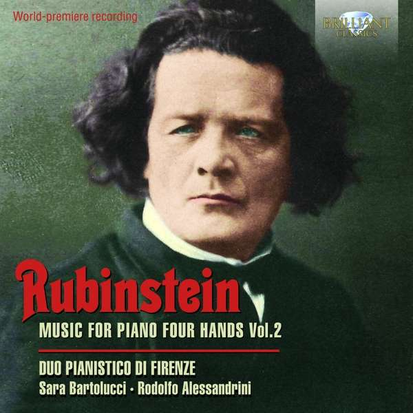 Music for Piano Four Hands Vol.2 - A. Rubinstein - Musik - BRILLIANT CLASSICS - 5028421959658 - December 6, 2019