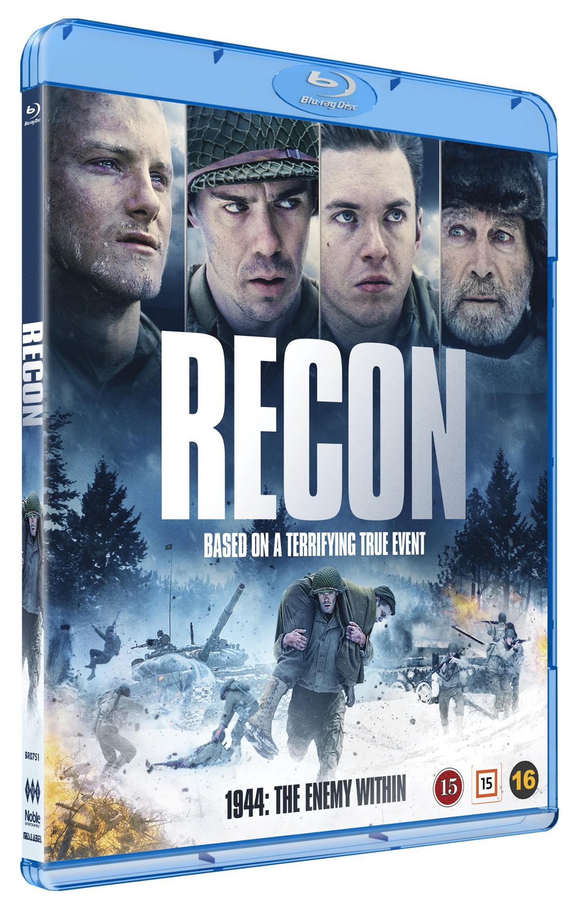 Recon - Alexander Ludwig - Film -  - 5705535066679 - September 13, 2021