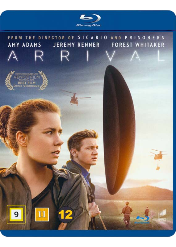 Arrival - Amy Adams - Film - SONY DISTR - WAG - 7330031000681 - April 20, 2017