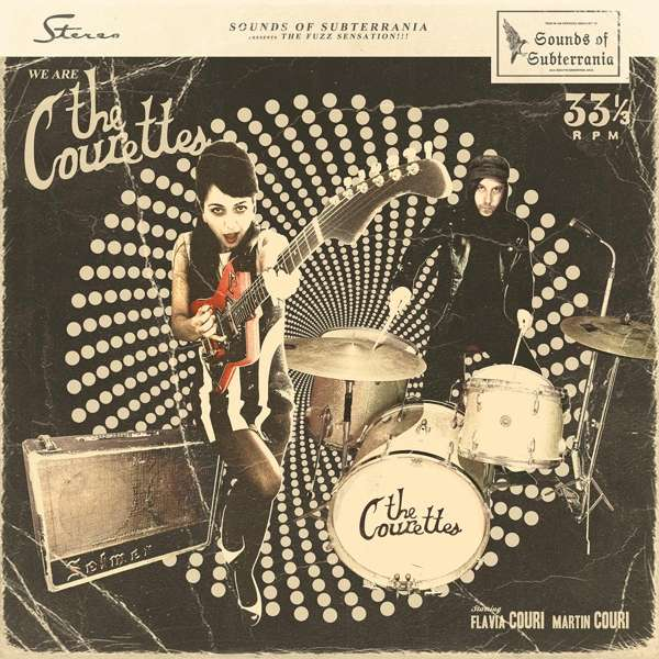We Are The Courettes - The Courettes - Musik - Sounds Of Subterrania - 4260016921683 - March 30, 2018