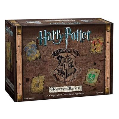 Harry Potter - Hogwarts Battle (A Cooperative Deck Building Game) -  - Brætspil -  - 0700304047700 -