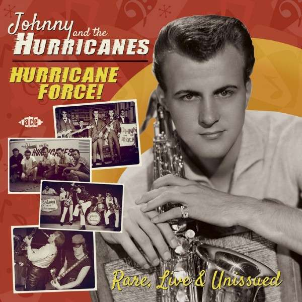 Hurricane Force - Rare & Live & Unissued - Johnny & the Hurricanes - Musik - ACE RECORDS - 0029667070720 - April 27, 2015